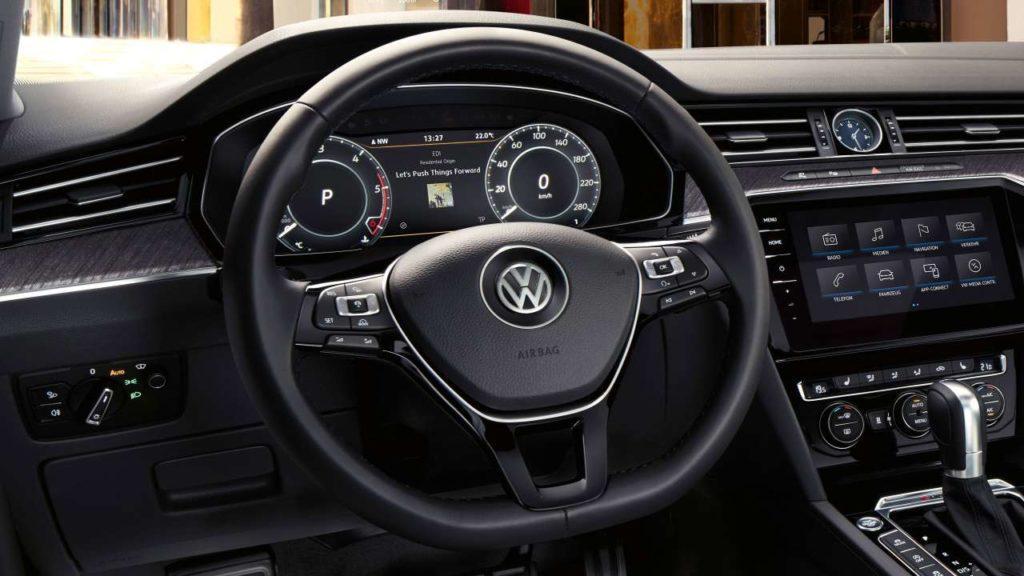 Interni della Volkswagen Arteon